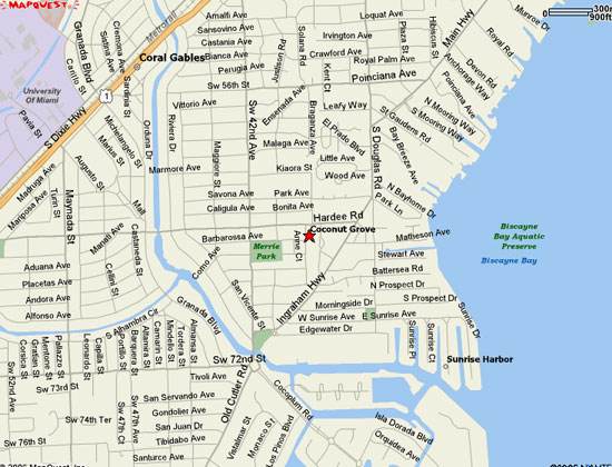 Coconut Grove Florida Map.Coconut Grove Properties