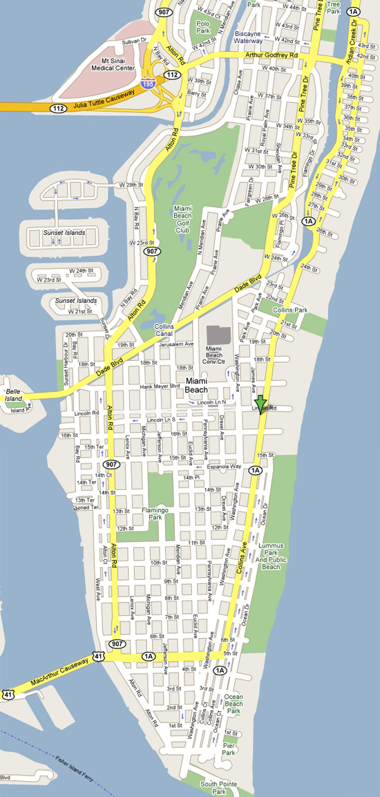 Prairie Avenue Miami Beach Fl